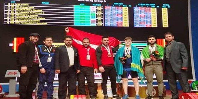 الربّاع عز الدين الغفير يحرز ثلاث برونزيات في بطولة آسيا للشباب