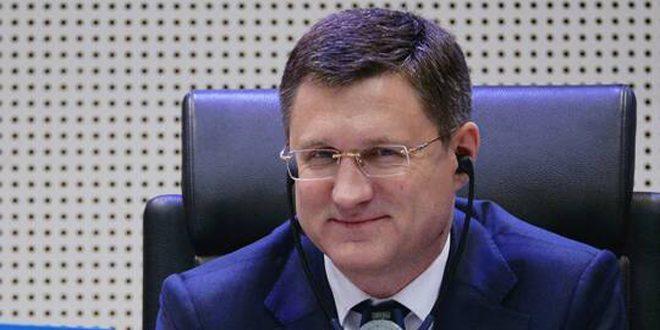 وزير الطاقة الروسي: لا نعتزم زيادة إنتاجنا النفطي