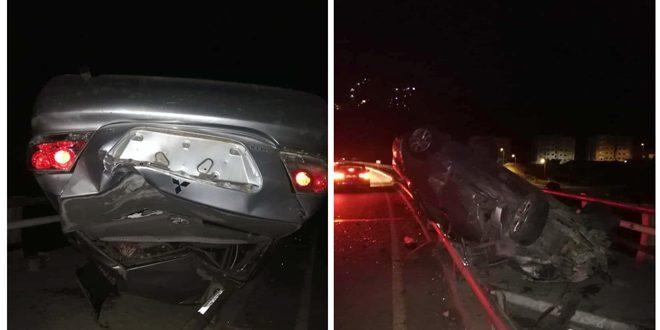 وفاة شاب بحادث سير في ضاحية قدسيا