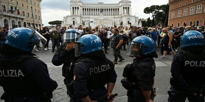 احتجاجات في روما وميلانو للمطالبة بإعادة العملة الإيطالية بدلاً من اليورو