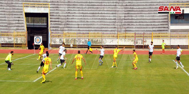 تشرين يلتقي الساحل والوثبة في مواجهة الوحدة بالمرحلة 19 من الدوري الممتاز لكرة القدم