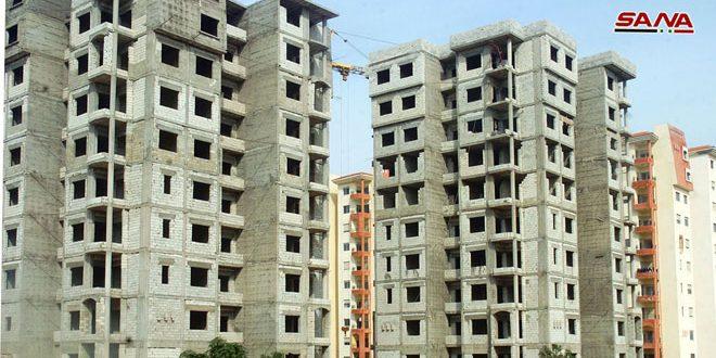 مؤسسة الإسكان بحلب: إطلاق مشروعات جديدة وترميم الأضرار التي خلفها الإرهاب