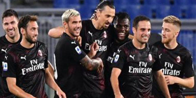 ميلان يتعادل مع نابولي 2-2 بدوري الدرجة الأولى الإيطالي