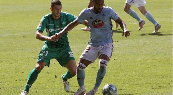 سيلتا فيغو يتعادل مع ريال بيتيس في الدوري الإسباني