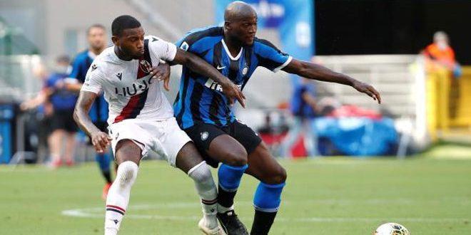 بولونيا يفوز على انتر ميلان في الدوري الإيطالي