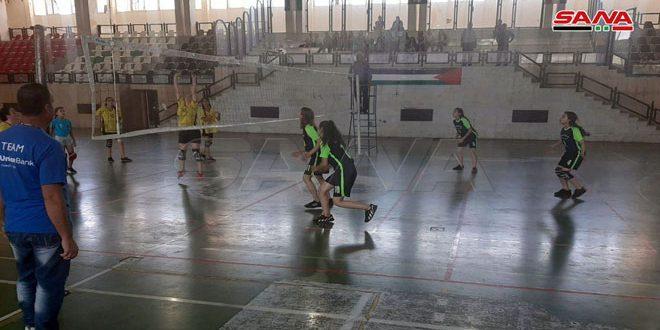 فوز فريق صلخد ببطولة السويداء التنشيطية للمراكز التدريبية بالكرة الطائرة للإناث