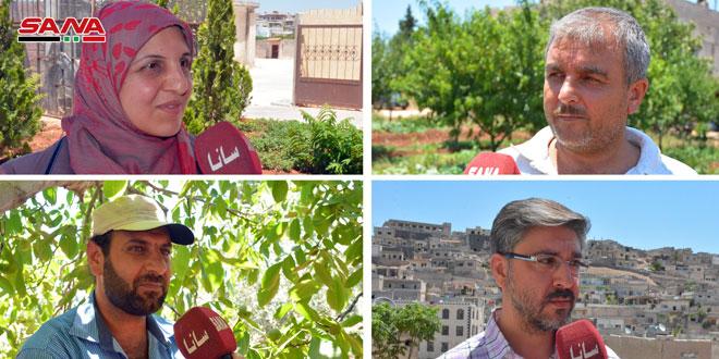 أهالي الرستن بريف حمص: سنشارك بانتخابات مجلس الشعب في رسالة تحدٍ لأعداء سورية