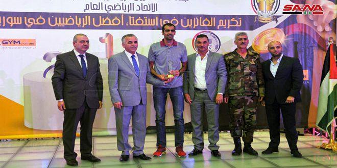 لجنة الصحفيين الرياضيين تكرم الفائزين باستفتاء أفضل الرياضيين لعام 2019