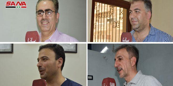 أطباء وصيادلة حماة: اختيار المرشحين القادرين على تحمل المسؤولية واجب وطني وأخلاقي