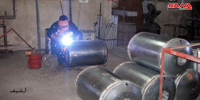 44 منشأة صناعية وحرفية جديدة دخلت حيز الإنتاج في طرطوس منذ بداية العام