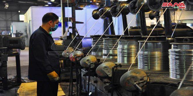 كابلات حوش بلاس… آلات حديثة دخلت الإنتاج وأرباح تجاوزت 3 مليارات ليرة بحصة سوقية تصل لـ 60 بالمئة