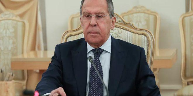 لافروف يبحث هاتفياً مع بومبيو الوضع في سورية وليبيا