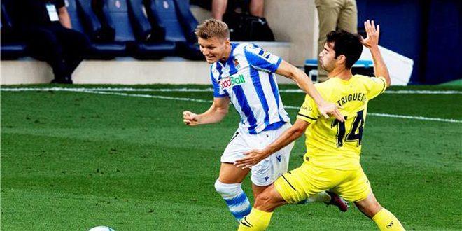ريال سوسيداد يهزم فياريال ويعزز فرصته بالتأهل للدوري الأوروبي