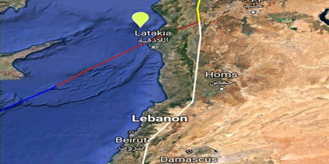 هزة أرضية بقوة 3.1 درجات قبالة الساحل السوري