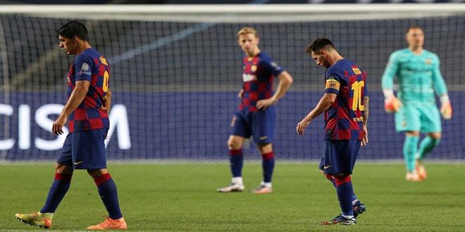 بايرن ميونيخ يقصي برشلونة ويتأهل لقبل نهائي دوري الأبطال