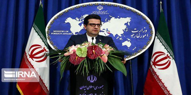 إيران: الاتفاق بين ميليشيا (قسد) وشركة أمريكية يشكل خطوة جديدة لنهب الموارد الطبيعية السورية