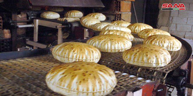 إجراء تعديلات فنية على خطوط الإنتاج بمخبزي قنوات وصلخد في السويداء لتحسين مواصفات الخبز