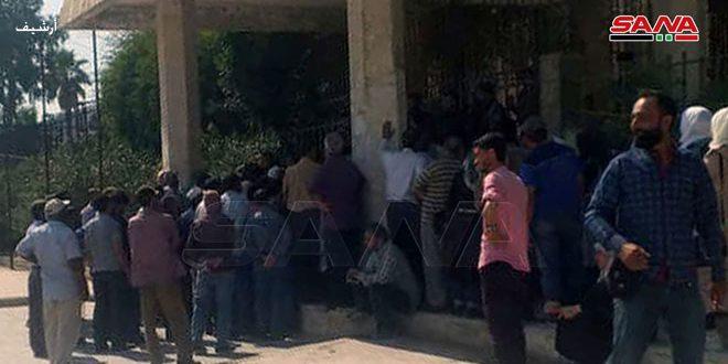 ميليشيا (قسد) تستولي على جزء من إدارة صوامع الحبوب بمدينة الحسكة وتطرد العاملين منه بقوة السلاح