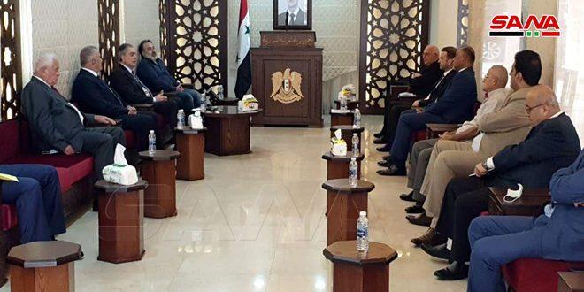 السفير عبد الكريم:تعزيز التكامل السوري اللبناني في مواجهة الإرهابين الصهيوني والتكفيري