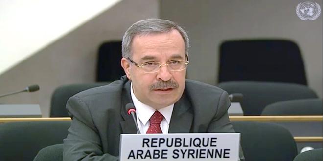 سورية تطالب مجدداً بإنهاء الاحتلال الإسرائيلي للجولان العربي السوري وتدين استمرار الاستيطان فيه-فيديو
