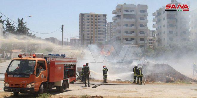 منظومة الإطفاء في طرطوس.. جهود مضاعفة لمواجهة الحرائق والحد من أضرارها