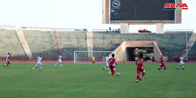 الاتحاد يفوز على مصفاة بانياس في دورة الوفاء بكرة القدم
