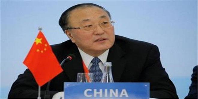 الصين تجدد دعوتها إلى حل الأزمة في سورية عبر الحوار السياسي