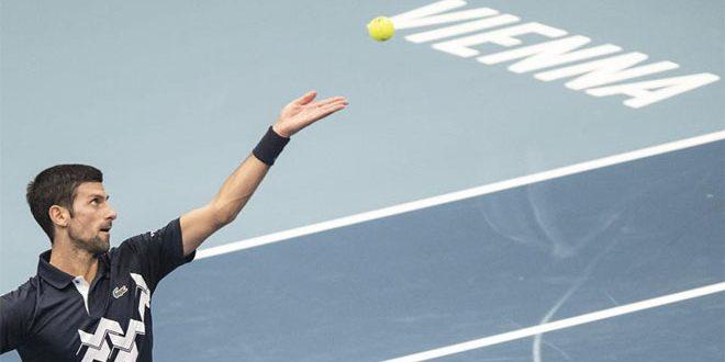 الصربي ديوكوفيتش يبلغ ربع نهائي بطولة فيينا المفتوحة للتنس