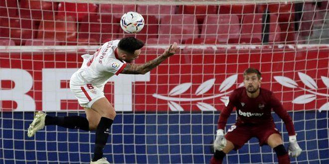 إشبيلية يهزم ليفانتي في الدوري الإسباني