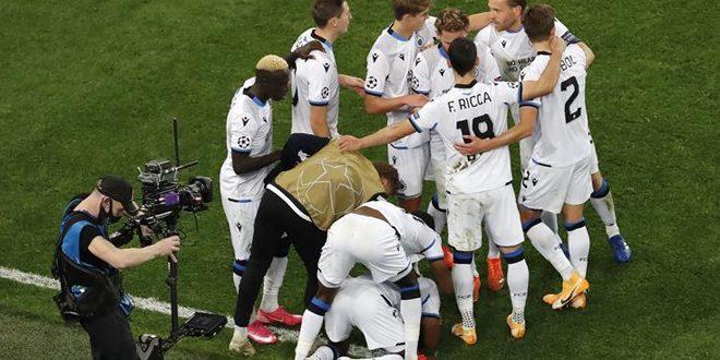 كلوب بروج يفوز على زينيت سان بطرسبورغ بدوري أبطال أوروبا