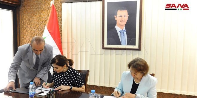 مذكرة تفاهم بين وزارة الثقافة واتحاد طلبة سورية