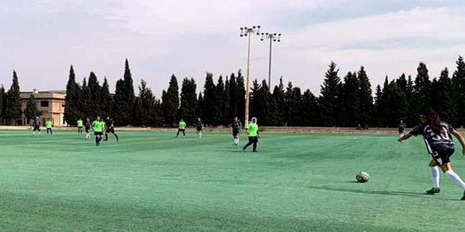 دوري السيدات لكرة القدم… فوز الوحدة ومحافظة حمص على عمال السويداء وجرمانا