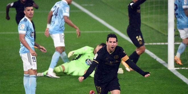 برشلونة يهزم سيلتا فيغو في الدوري الإسباني