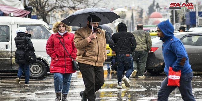 أمطار في أغلب المحافظات أغزرها في القنيطرة 16 مم