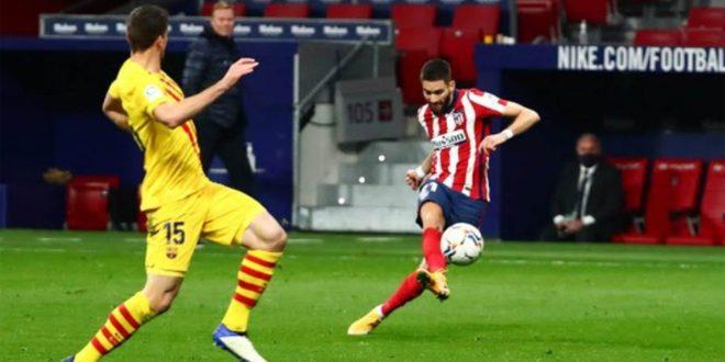 أتليتيكو مدريد يفوز على فالنسيا بهدف دون رد بالدوري الإسباني لكرة القدم