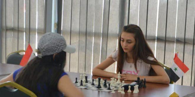 أمل يوسف… موهبة مميزة بلعبة الشطرنج