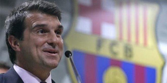 لابورتا يعلن ترشحه لرئاسة برشلونة