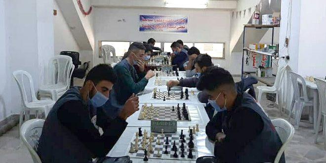 زين رستم أولاً في بطولة معاهد اللاذقية بالشطرنج