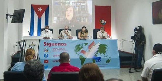 اتحاد طلبة سورية يشارك في لقاء الشباب العالمي بالعاصمة الكوبية