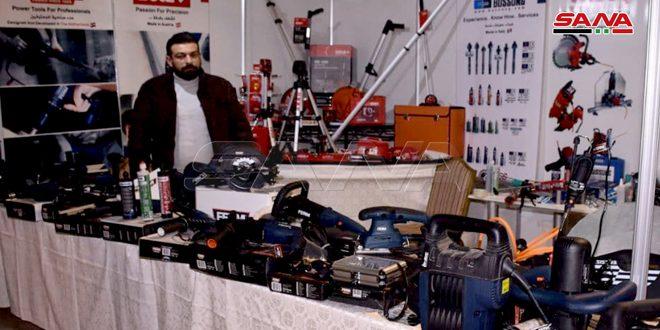 """افتتاح معرض البناء السوري """"تكنو بيلد حلب"""" بمشاركة 70 شركة بناء"""