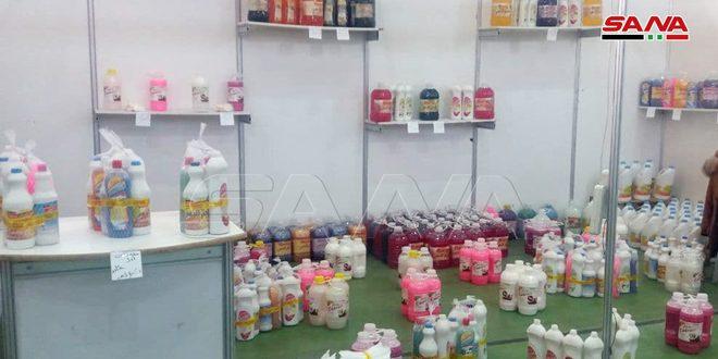 افتتاح مهرجان التسوق (سورية بتجمعنا) في بلدة خان أرنبة بالقنيطرة