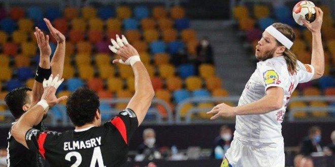 منتخب مصر لكرة اليد يودع المونديال على يد الدنمارك حاملة اللقب