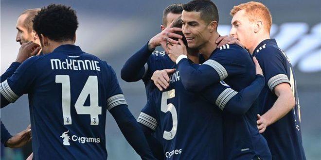 يوفنتوس يفوز على بولونيا بالدوري الإيطالي لكرة القدم