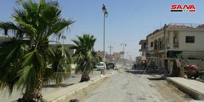 استشهاد رئيس مجلس بلدة ناحتة بنيران إرهابيين في ريف درعا