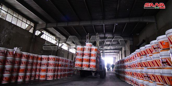 دهانات أمية تطرح منتجاً جديداً ومبيعاتها تصل إلى 3.9 مليارات ليرة