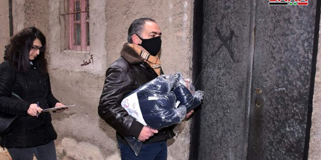 حملة دفا: نحو مئة عائلة مستفيدة من المرحلة الأولى في حلب