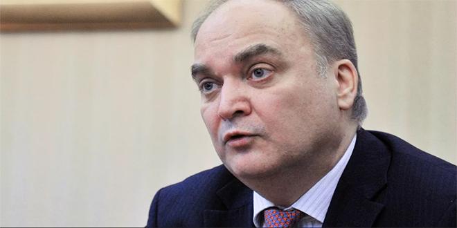 أنطونوف: يمكن لروسيا والولايات المتحدة التعاون في سورية شريطة احترام سيادتها