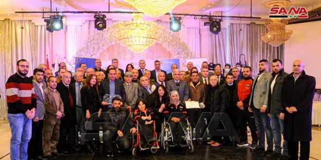 لجنة الصحفيين الرياضيين تكرم الرياضيين والإعلاميين المتميزين في عام 2020