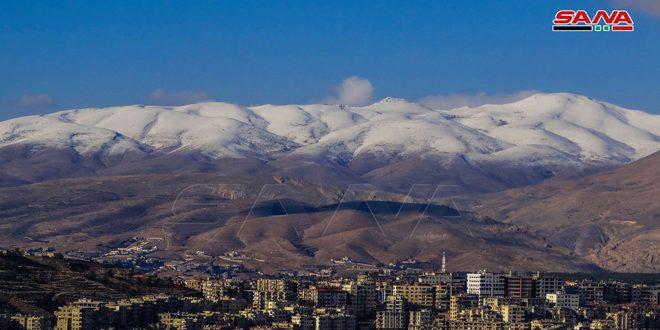 أمطار غزيرة متوقعة فوق المناطق الساحلية وهطولات ثلجية على المرتفعات التي تزيد على 1400 متر