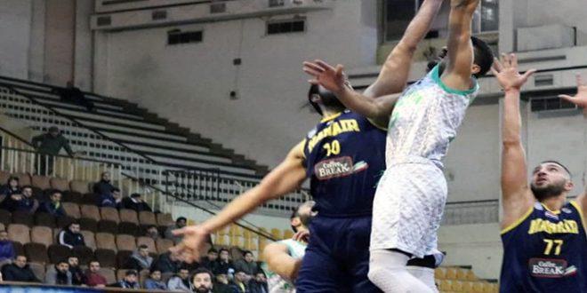 المنافسة تشتد على الصدارة في ذهاب دوري كرة السلة للرجال